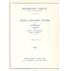Vingt Grandes Etudes Vol. 2