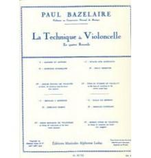 La Technique du Violoncelle Vol. I: Gamm