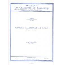 Adagio, Allemande et Gigue