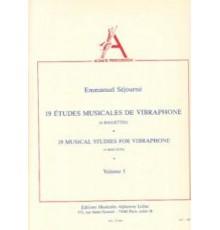 19 Etudes Musicales de Vibraphone Vol. 5