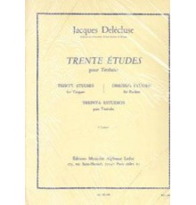 Trente Etudes Vol.3 Timbales