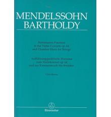 Performance Practices Violin Concerto