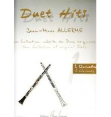 Duet Hits Clarinet 1