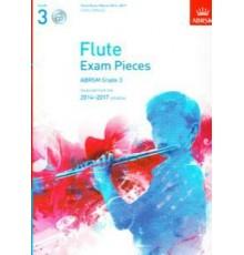 Flute Exam Pieces 2014-2017 Grade 3   CD