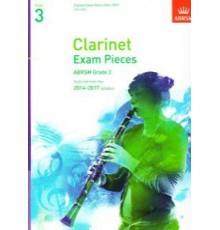 Clarinet Exam Pieces 2014-2017 Grade 3
