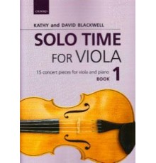Solo Time for Viola Book 1