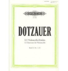 113 Violoncello-Etuden Vol. I (Nº 1-34)
