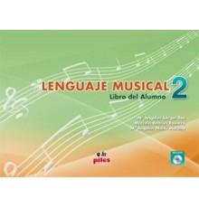 Lenguaje Musical. Libro Alumno Nº 2   CD