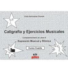 Caligrafía y Ejercicios Musicales Vol.4