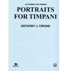 Portraits for Timpani. 50 Studies for