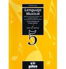 Lenguaje Musical. Alumno. 5