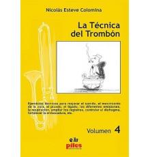 La Técnica del Trombón Vol. 4