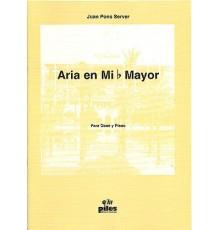 Aria en Mib Mayor. Oboe y Piano