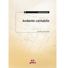 Andante Cantabile (Fl/Vl-Pno)