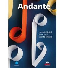 Andante. 1. Primer Curso   CD Nueva Ed.