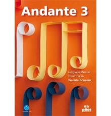 Andante. 3. Tercer Curso   CD Nueva Ed.