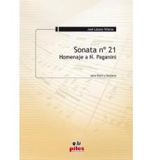 Sonata Nº 21 (Violín y Guitarra)