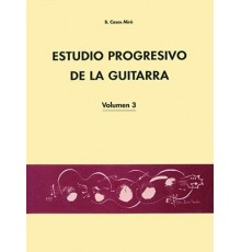 Estudio Progresivo de la Guitarra Vol. 3