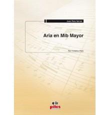 Aria en Mib Mayor. Trompeta y Piano.