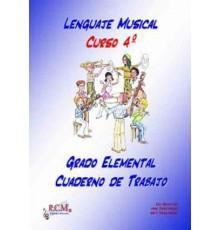 Lenguaje Musical Grado Elemental 4 Cuade
