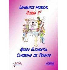 Lenguaje Musical Grado Elemental 3 Cuade