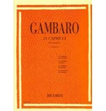 21 Capricci per Clarinetto