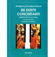 6 Duetti Concertanti Nº II nºs 4,5,6