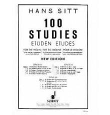 Sitt. 100 Studies Op. 32 Vol. I First po