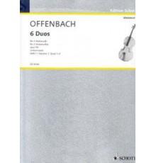Sechs Duos fur Violoncelli Op. 50 I