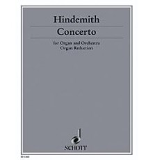 Concerto for Organ and Orchestra/ Red.Pn