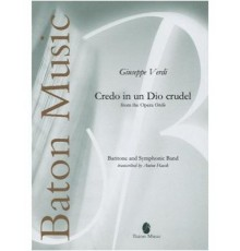"""Credo in dio Crudel from the Opera """"Otel"""