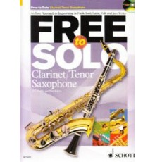 Free to Solo Clarinet/ Tenor Saxophone