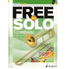 Free to Solo Trombone   CD