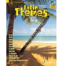 Latin Themes Oboe   CD