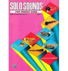 Solo Sounds for French Horn Vol. 1