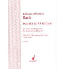 Sonata G-moll BWV 1020