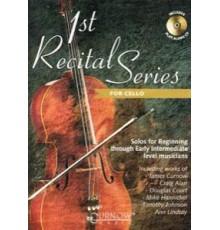 1St Recital Series for Cello   CD