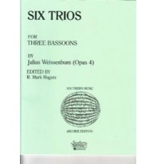 Six Trios Op.4 for Three Bassoons