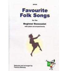 Favourite Folk Song. Beginner Bassoonist