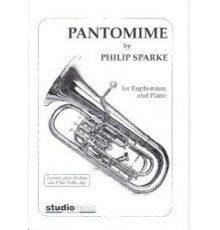 Pantomime.Euphonium with Piano Accompani