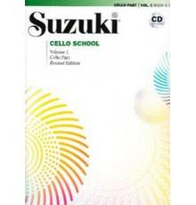 Suzuki Cello School Vol. 1   CD