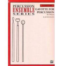 Gavotte for Percussion