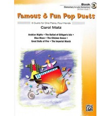 Famous & Fun Pop Duets Book 3