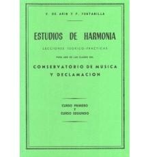 Estudios de Harmonía Vol.1/2 Lecciones