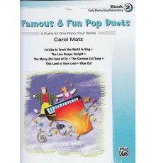 Famous & Fun Pop Duets Book 2