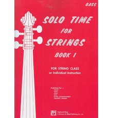 Solo Time For Strings/ Bass