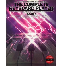 The Complete Keyboard Player Book 4