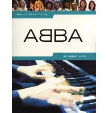 Really Easy Piano ABBA 25 Great Hits