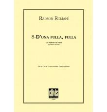 8 - D? una Fulla, Fulla Mínimo 12 ejempl