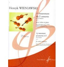 1er Mouvement du 2º Concerto Re mineur O